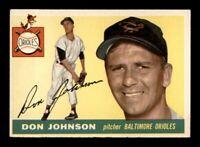 1955 Topps Set Break # 165 Don Johnson EX-MINT *OBGcards*