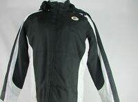Green Bay Packers NFL Men's Black Full-Zip Coat