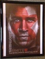 """SDCC 2015 Hunger Games Mockingjay Gale Liam Hemsworth 21"""" x 17"""" Framed Poster"""