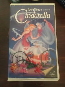 Walt Disney Black Diamond Classic (1988) Cinderella VHS 410