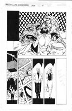 "SPECTACULAR SPIDER MAN Original Comic Art #245 p9 Luke Ross 11""x17"" panel Page"