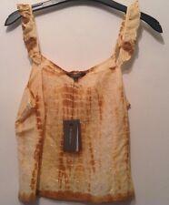 BNWT �� River Island �� Size 10 Castaway Cotton Top, Vest, Blouse