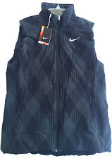 Nike Golf Sport DWR Thermal Vest 619787-010 Zip Up Anthracite Women's L PGA new