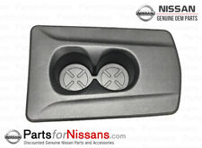 Genuine Nissan 2014-2018 Rogue Rear Seat Charcoal Cup Holder NEW OEM