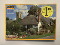 """""""Welford On Avon Village"""" Kodacolor by RoseArt - 1000 Piece Jigsaw Puzzle NEW"""