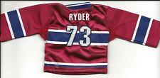 Michael Ryder  2-Lot  06/07 Upper Deck Mini Jersey  Home & Away  Canadiens