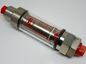 Parker Flowline Hydraulic Oil High Pressure Mechanical Flowmeter #FM26232112