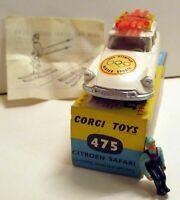 Corgi Toys, 475 Citroen Safari Olympic Winter Sports,    original