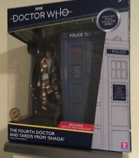Doctor Who The Fourth Dr and Tardis Brand New  Free UK Postage