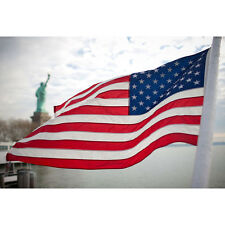 3'x 5' Polyester Us Flag Ft Usa American Stars Stripes United States Grommets