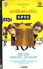 S.P.Y.S.  Syis (1974) VHS Warner 1a Ed.  Elliott Gould, Donald Sutherland RARA