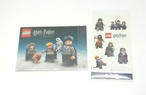 Lego Harry Potter Years 1-4, Sticker Sheet and Postcards, Collectors