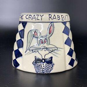 Vintage 1940's The Crazy Rabbit Bar Copacabana Rio de Janeiro Brazil Ashtray