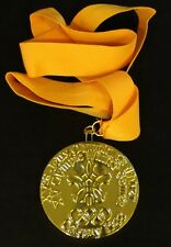 GOLD MEDAL - 1988 CALGARY WINTER OLYMPICS - WITH SILK RIBBON & STORAGE POUCH