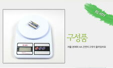 Digital Kitchen Scale Weighs Up To 7kg Batteries Incl. Ounce Indicator Available