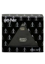 Harry Potter Always Hers Size 7 His Size 10 Boxed Ring Necklace Set NIB!