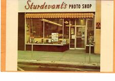 Advertising Card- Sturdevant's Photo Shop Danbury CT Coin Operated Parking Meter