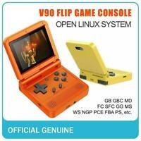 HOT!! V90 3-inch 64Bit Handheld 16 Simulators Games Retro Game Video Console
