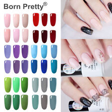 Color Nail Art Soak Off UV LED Gel Polish  Top Base Coat Gel Born Pretty