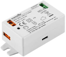 Poppstar LED Trafo Transformator 230V AC / 12V DC 0.5A 6W (Watt)