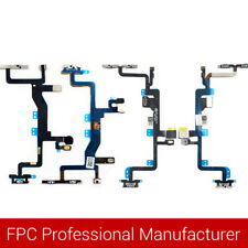 Power Switch Button Flex Cable Replacement Fix Part For iPhone Series EB