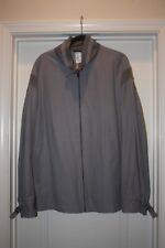 VERSACE Collection Gray Men's Windbreaker, Size 54