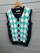 Ladies Ping Collection Merino Argyle Golf Tank Top Size 12