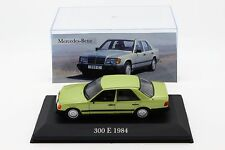 1:43 IXO & ALTAYA - Mercedes-Benz 300 E 1984