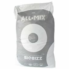 50L BioBizz All-Mix mit Perlite All Mix vorgedüngte Pflanzerde AllMix + Flyer