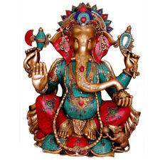 """Large Ganesha Statue Ganpati Ganesh Idol Elephant God Religious Home Decor 28"""""""