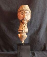Marionnette marotte Tête Kébé Kébé Kouyou kuyu Congo