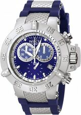 Invicta Men's Subaqua Chrono 500m Stainless Steel Blue Polyurethane Watch 5512