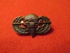 Para Glider Paratrooper Jump wing US Army Airborne clutch back