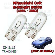 Mitsubishi Shogun MK3 8SMD LED Error Free Canbus Side Light Beam Bulbs Pair