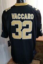 NFL New Orleans Saints Football Nike On Field  #32 Kenny Vaccaro Jersey Sz 2XL.