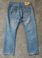 Mens Levis 501 Classic Straight Leg Jeans - W34 L32