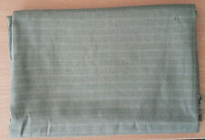 Remnant Poly Viscose Striped Fabric 75cm x 150cm - Sage Green - R128
