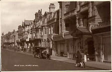 Bexhill on Sea. Wilton Road & Motor Car. E.A. Carey, Fruiterer's Shop.