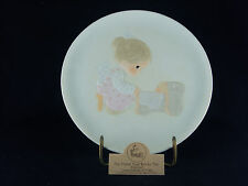 """The Hand That Rocks The Future"" Precious Moments Plate, E-9256, #11668, No Mark"