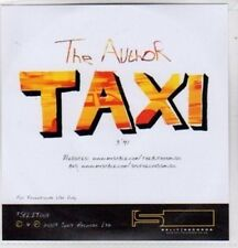 (BO830) Taxi, The Author - 2007 DJ CD