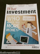 WHAT INVESTMENT #349 - WHO MAKES MORE MONEY - APRIL 2012