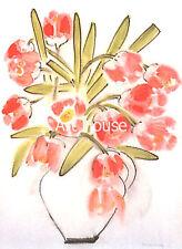 """Ha Van Vuong   """"Tulips""""   70x50cm   Art Pint   2033"""