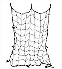 Cargo Net 4'x5' Black Elastic Bungee with 10 Hooks New in Package Free Shipping