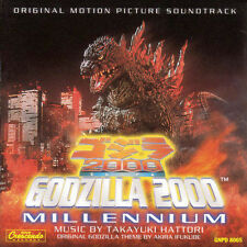 Godzilla 2000 Millennium by Original Soundtrack (CD, May-2005, GNP/Crescendo)