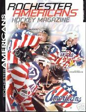 Rochester Americans Amerks Magazine Programs 2001-2002