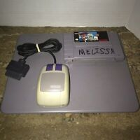 Mario Paint (Super Nintendo Entertainment System, 1992) - Pad, Mouse, Cartridge