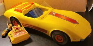 Vintage 1979 Mattel Barbie Super Vette Car Corvette Battery Powered - Works