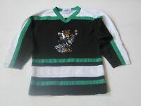 VINTAGE Hockey Jersey XL Youth Patch Mitchell #19 Tigers Wildcats Athletic Knit