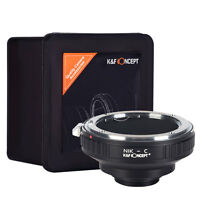 New K&F Concept Adapter for Nikon F (Ais D) Mount Lens to C Mount Cine Camera