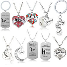 Gifts For Her Mom Women Silver Necklace Bracelet Mothers Day Birthday Gifts New